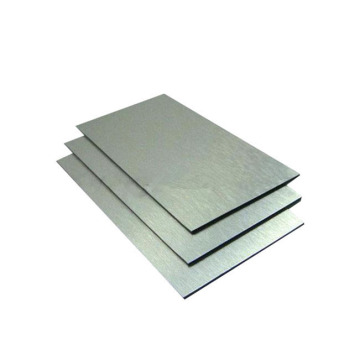 Cold Rolled Anodized Prefinished  Brushed Aluminum Sheet