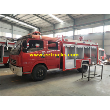 6000 Litres Foam Rescue Fire Trucks