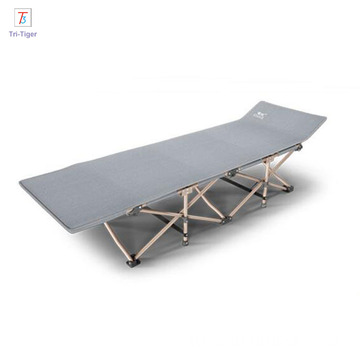 600D oxford portable cot Aluminum Single Military Folding Camping Bed