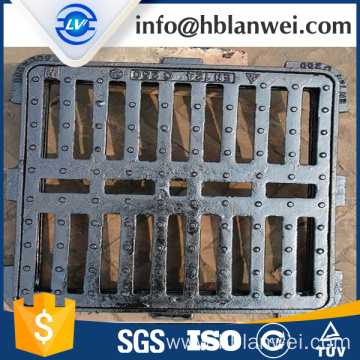 Factory Price for Cast Iron Manhole Cover D400 ductile iron gully grate export to French Guiana Factories