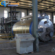 Low Cost for Batch Waste Tyre Pyrolysis Plant Garbage Refinery Oil Energy Plant export to Benin Importers