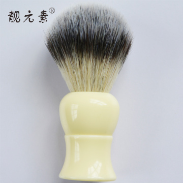 wooden shaving brush and bowl set