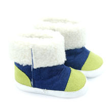 New Arrival for Baby Leather Boots Wholesales Colorful Cotton Baby Boots export to South Korea Factory