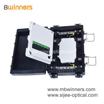 Horizontal PLC Fiber Optic Splitter Closure Junction Box