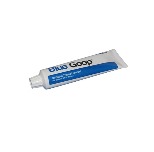 Blue Goop Thread Lubricant for Waterjet Cutting Machine