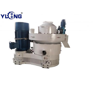 3-4T/H bamboo sticks pellet making machine