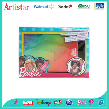 BARBIE wings and crown attractive art set