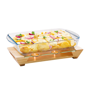 rubber wooden food warmer