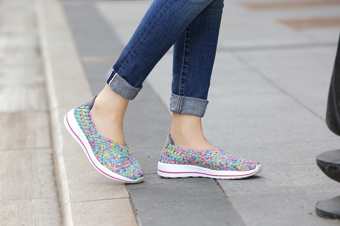 Multi Colors Slip-ons