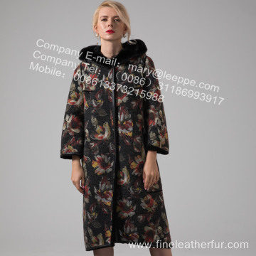 Reversible Lady Australia Merino Shearling Coat Winter
