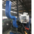 Aluminum downspout roll forming machine