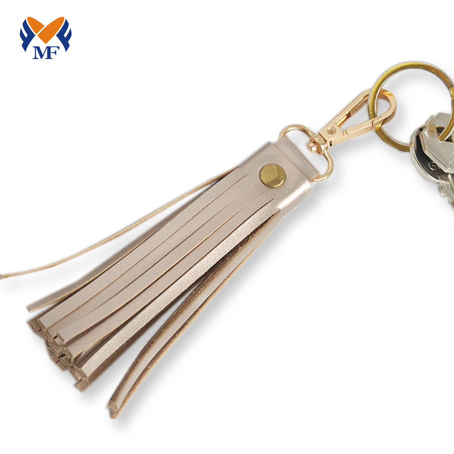 Leather Keychain Womens