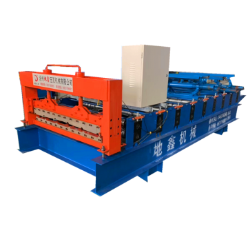 roofing sheet trapezoidal iron sheet making machine