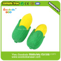 Promotion Corn children stationery Eraser custom