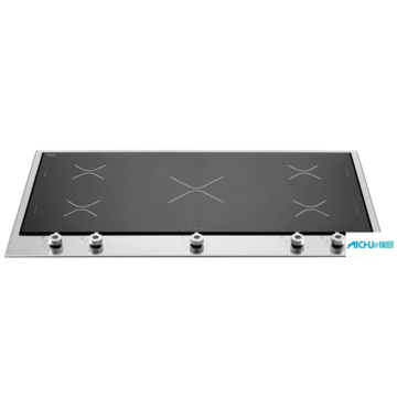 36 Segmented Cooktop 5 Induction Zones
