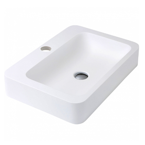 matte resin bathroom acrylic basins and cabinet sink