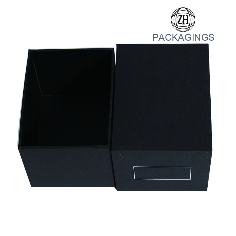Luxury custom foil stamped box for goods display