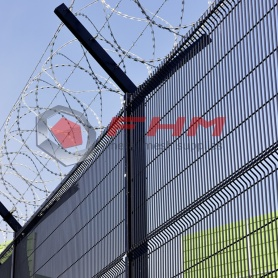 PVC Coated Heavy 358 Anti Climb Fence