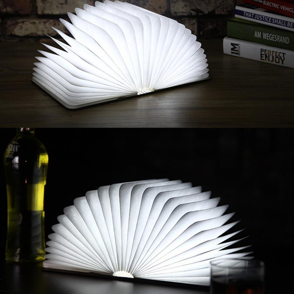 Folding Book Light with USB Charging Port