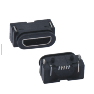 Waterproof DIP MICRO USB-AB TYPE 5P SMT Receptacle