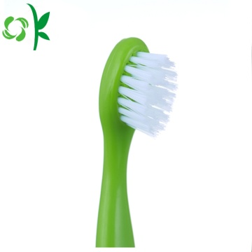 100% Silicone Kids Toothbrush Dental Oral Care Brush