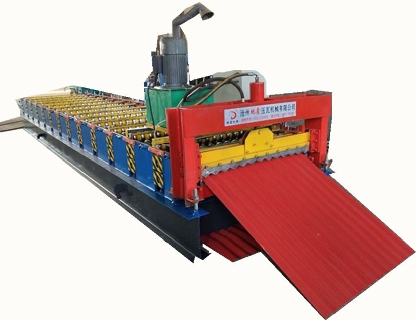 Corrugated roofing machine spare rollers