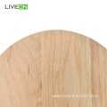Round Red Oak Wooden Chopping Cutting Board