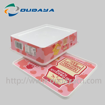 IML box Sandwich Biscuit Packaging Box