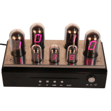 Wholesale Price for Digital Clock For Desk Nixie Tube Clock with Date and Alarm Function export to Somalia Supplier