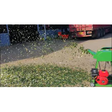 Hay And Green Gasoline Agricultural Grass Chaff Cutter