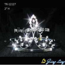 Rhinestone Crowns Beauty Princess Tiara TR-12127