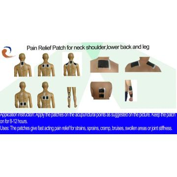 Pain Relief Plaster For Stiff Neck