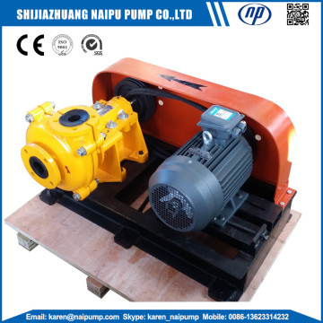 2/1.5B-AHR Rubber Lined Slurry Pumps