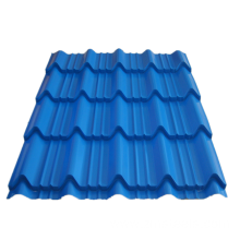 Blue glazed roof tiles