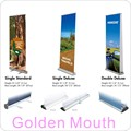 85x200cm Luxury Aluminum Retractable Banners