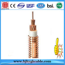 Copper Conductor Fireproof PVC Insulation Power Cable