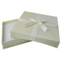 Matte Finish White Cardboard Box Necklace Paper Box