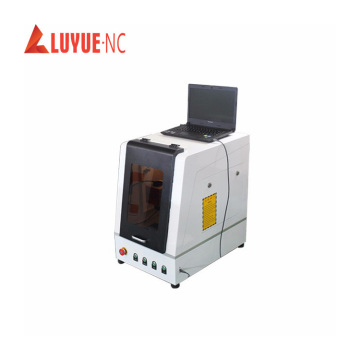 top quality mini enclosed fiber laser marking machine