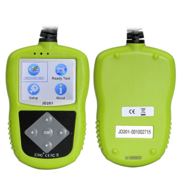 Hot Selling for for China Obdii Code Reader,Auto Scanner ,Fault Code Reader ,Automotive Health Scanner Manufacturer 2017 JDiag JD201 Code Reader for OBDII/EOBD/CAN export to Slovakia (Slovak Republic) Manufacturers