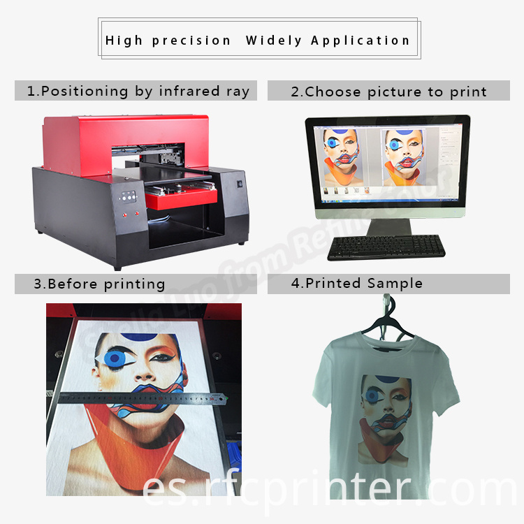 T-Shirt Black Color Printing Machine