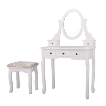Factory Wood Mirror Simple Dressing Table Designs With Drawer