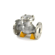 JKTL water pipeline fitting threaded ball type water check valve 160mm