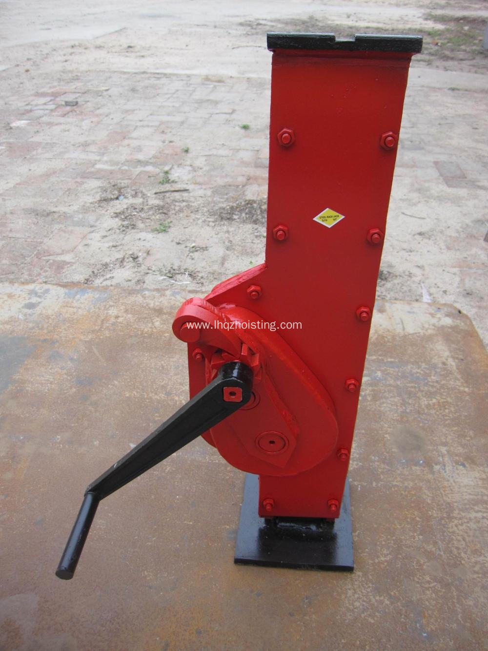 20 ton rack mechanical jack for hot sale