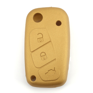 Silicone Car Key Cover bakeng sa Fiat