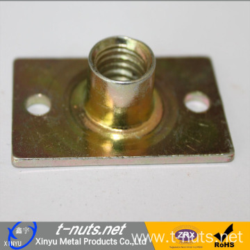 Stampings Staniless Steel Rectangle 2 holes T-nut