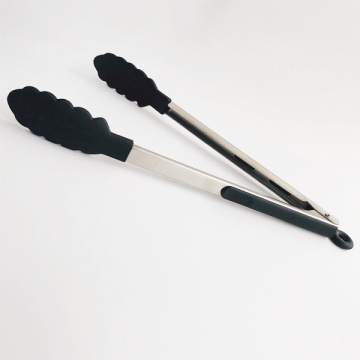 12 Inches Professionals Silicone Tipped Locking Tongs