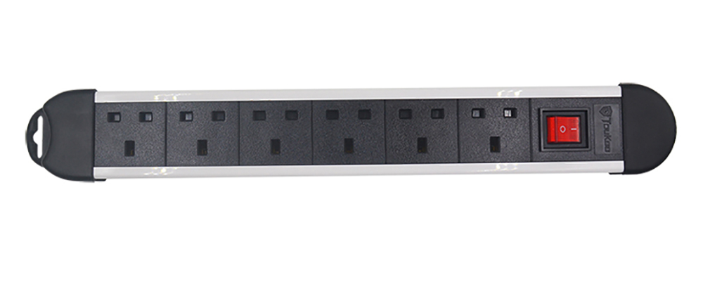 6 way Electrical Extension Socket