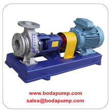 Cheapest Price for Stainless Steel Chemical Pump API610 Petrochemical Process Chemical Pump export to French Guiana Factories