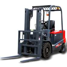 4 wheels 3 ton electric forklift truck