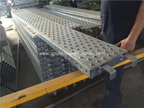 Steel Scaffolding Walk Board Machine